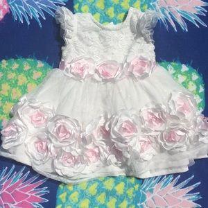 👸 Nannette Baby 12M flower dress 👸
